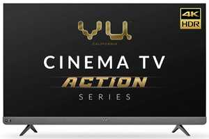 Vu Cinema TV Action Series 65LX 65 inch (165 cm) Ultra HD 4K LED HDR 10 JBL 6 Speaker Smart TV