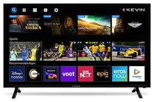 Kevin KN40SCA 40 inch (102 cm) HD Ready LED Gaming Smart TV