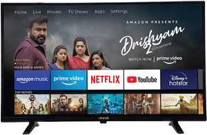Croma CREL7364 32 inch (81 cm) HD Ready LED HDR 10 Fire TV Edition Smart TV