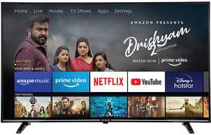 Croma CREL7368 55 inch (140 cm) Ultra HD 4K LED HDR 10 Fire TV Edition Smart TV