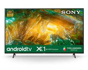 Sony X8000H Series KD-75X8000H 75 inch (191 cm) Ultra HD 4K LCD Panel LED HDR 10 Android TV