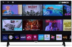 Shinco SO50FLQ 50 inch (127 cm) Ultra HD 4K LED HDR 10 Smart TV