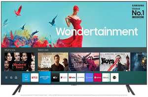 Samsung Wondertainment Series UA55TUE60FKLXL 55 inch (140 cm) Ultra HD 4K LED HDR 10 Plus Built-in PC Mode Gaming Smart TV