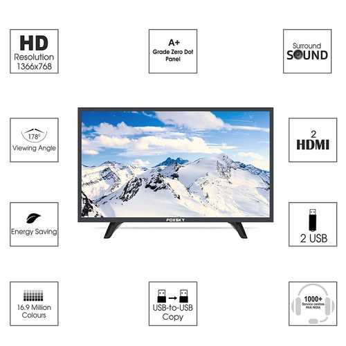 Foxsky 32FSN 32 inch (81 cm) HD Ready LED TV