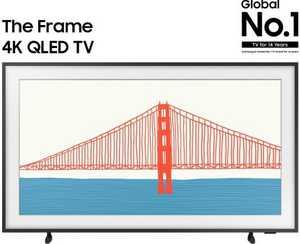 Samsung LS Series QA50LS03AAKLXL 50 inch (125.7 cm) UHD 4K QLED HDR 10 Plus Smart TV