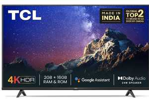 TCL P615 Series 65P615 65 inch (165 cm) UHD 4K LED HDR Android TV