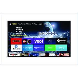 Indicool AI50UHF01S 50 inch (127 cm) UHD 4K LED Android TV