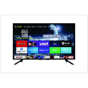 Indicool AI43UHF01S 43 inch (109 cm) UHD 4K LED Android TV