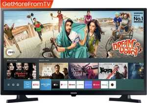 Samsung Wondertainment Series UA32T4340BKXXL 32 inch (81 cm) HD Ready LED HDR Built-in PC Mode Gaming Smart TV
