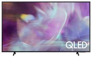 Samsung Series 6 QA55Q60AAKLXL 55 inch (139 cm) UHD 4K QLED HDR 10 Plus Built-in PC Mode AirSlim Gaming Smart TV
