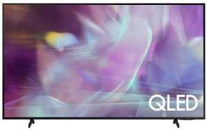 Samsung Series 6 QA43Q60AAKLXL 43 inch (109 cm) UHD 4K QLED HDR 10 Plus Built-in PC Mode AirSlim Gaming Smart TV