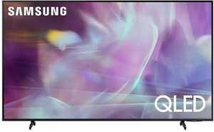 Samsung Series 6 QA50Q60AAKLXL 50 inch (127 cm) UHD 4K QLED HDR 10 Plus Built-in PC Mode AirSlim Gaming Smart TV