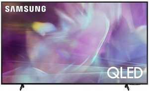 Samsung Series 6 QA65Q60AAKLXL 65 inch (165 cm) UHD 4K QLED HDR 10 Plus Built-in PC Mode AirSlim Gaming Smart TV