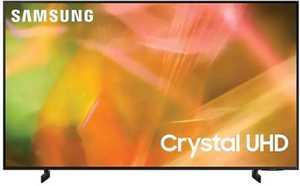 Samsung Series 8 UA50AU8000KLXL 50 inch (127 cm) UHD 4K LED HDR 10 Plus Built-in PC Mode AirSlim Smart TV