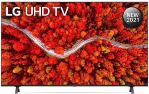 LG UM80 Series 55UP8000PTZ 55 inch (139 cm) UHD 4K LED HDR 10 Pro AI Gaming Smart TV