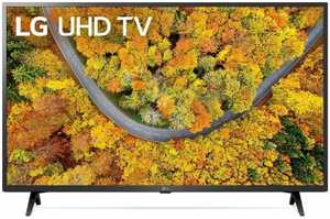 LG UP75 Series 43UP7550PTZ 43 inch (109 cm) UHD 4K LED HDR 10 Pro AI Gaming Smart TV