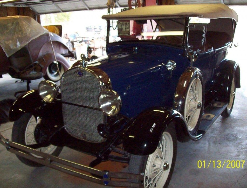 1928 FORD AR 4DR Pheaton Original