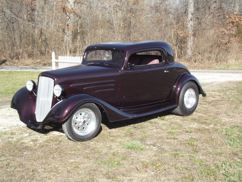 1934 Chevy Coupe Show Car