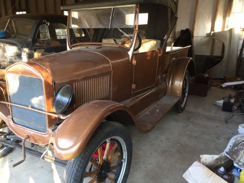 1926 Ford Model T Roadster Pickup Ruckstell rearend