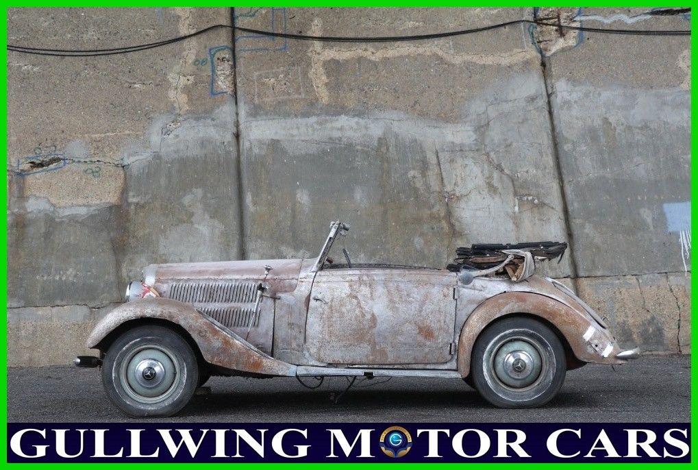 GREAT 1937 Mercedes Benz 230N