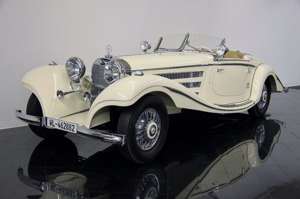 GREAT 1935 Mercedes Benz 500 Series Special