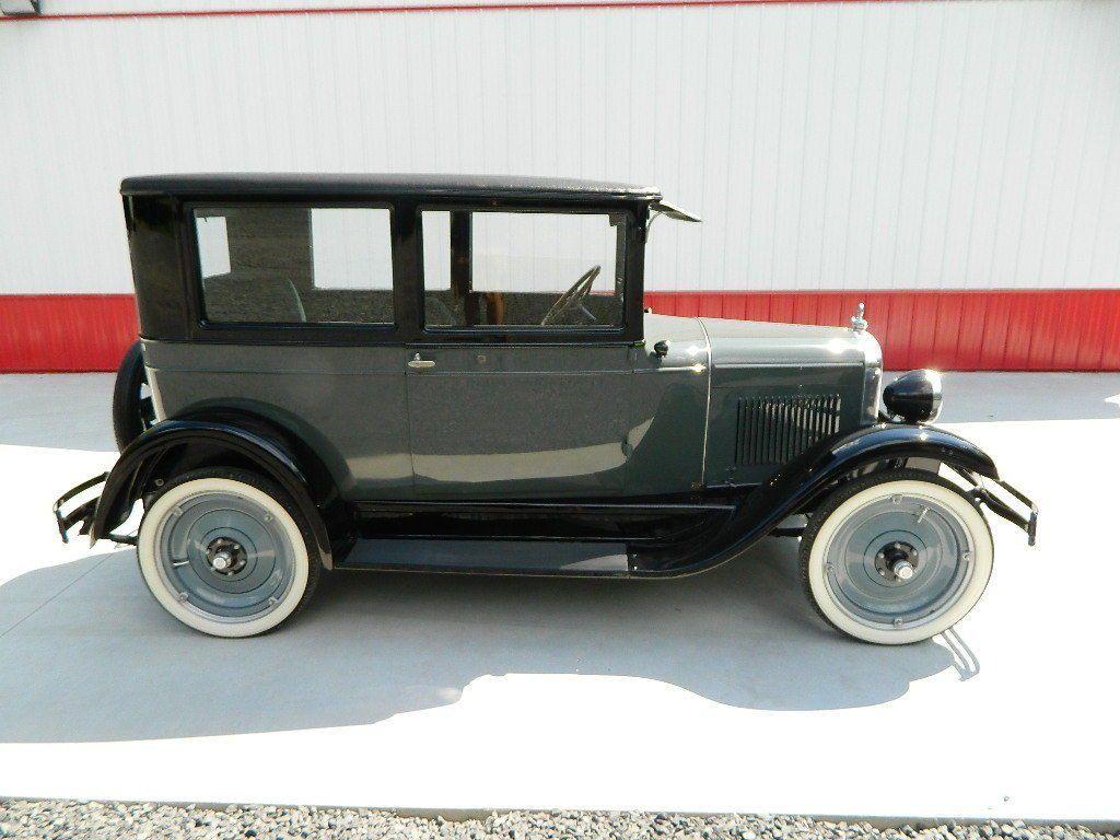 1927 Chevrolet Saloon Tudor Saloon Restored