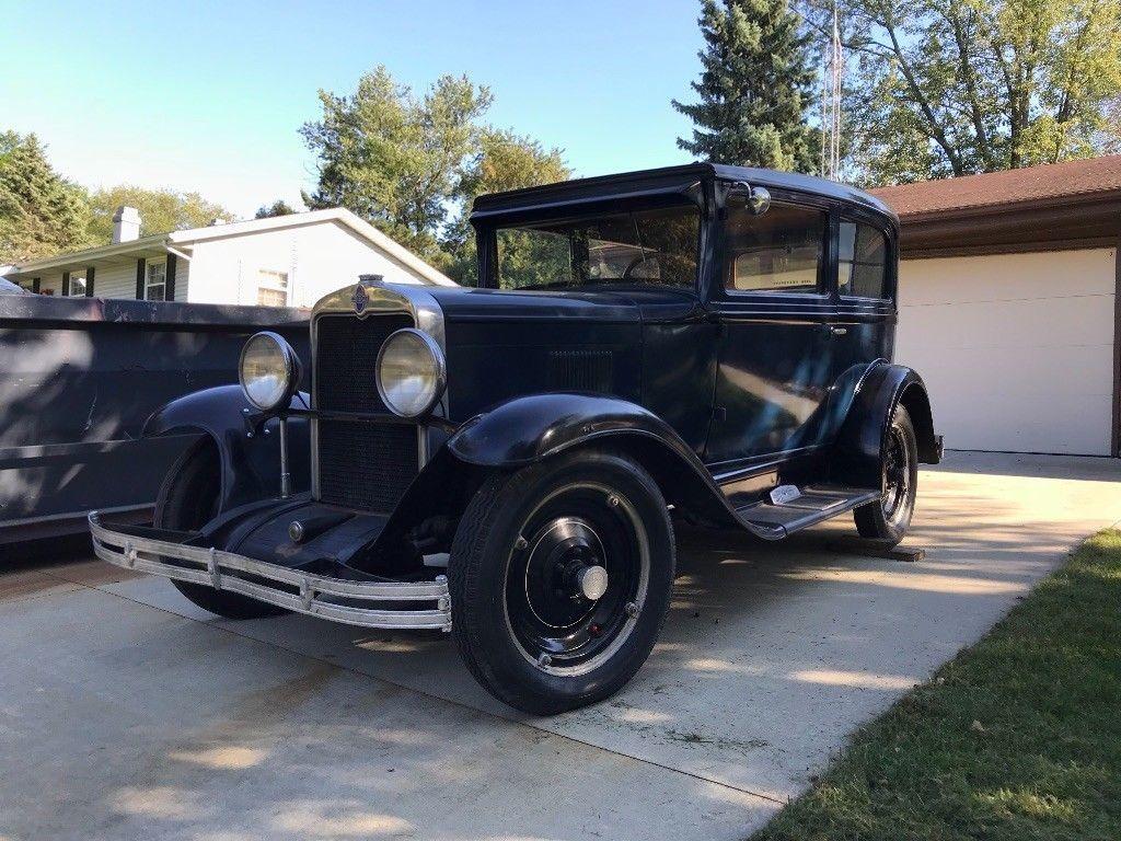 1930 Chevrolet Series AD 2 door sedan