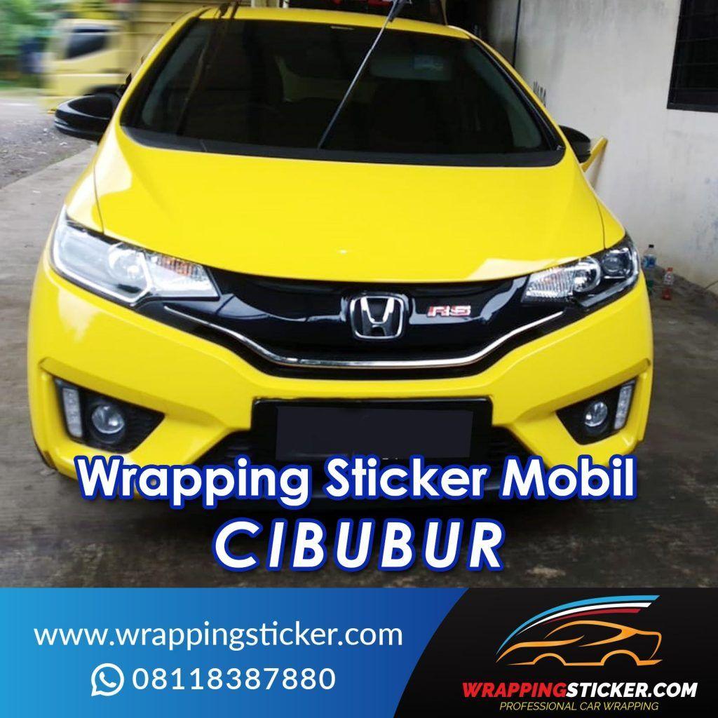 Wrapping Sticker Mobil Cibubur