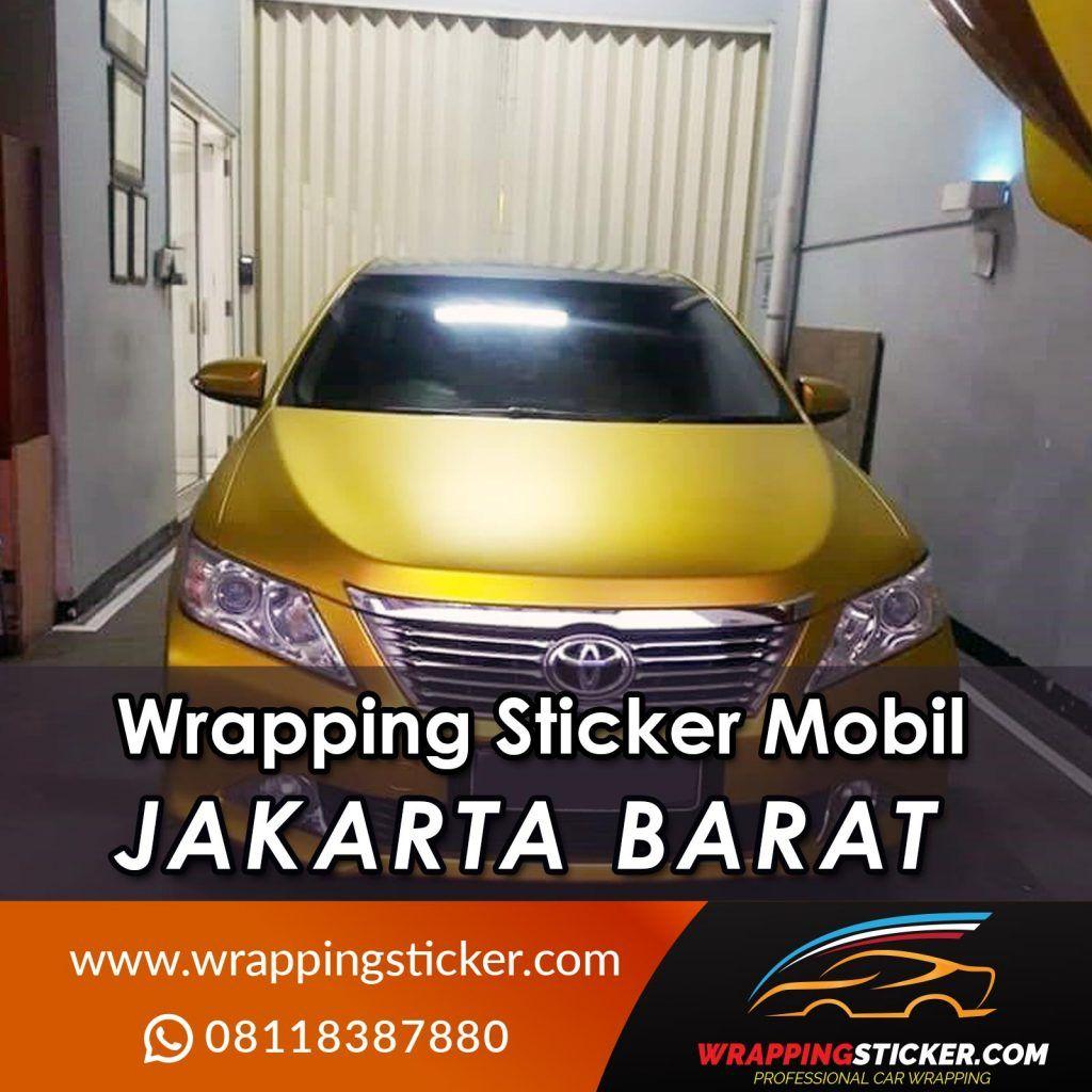 Wrapping Sticker Mobil Jakarta Barat