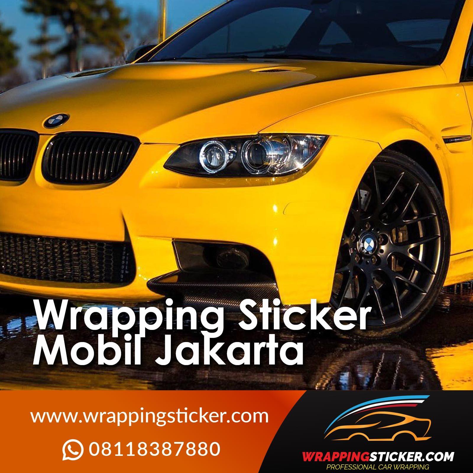 Wrapping Sticker Mobil Jakarta