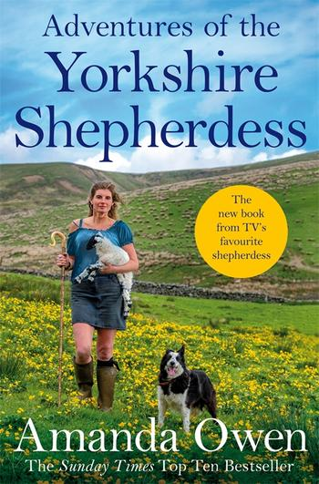 Book cover Adventures of the Yorkshire Shepherdess