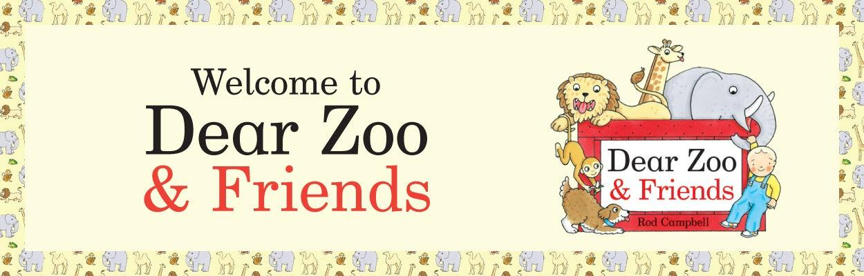 Welcome to Dear Zoo & Friends Banner with Animals