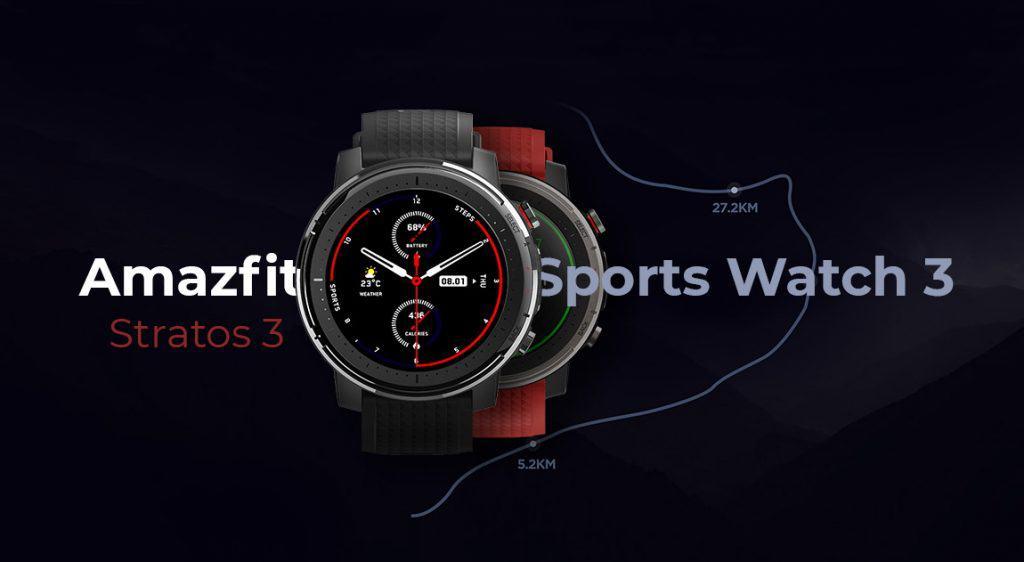 Amazfit Smart Sports Watch 3 specs