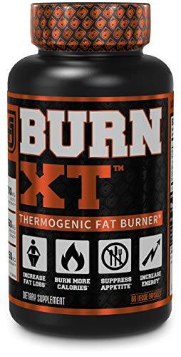 Burn-XT Thermogenic Fat Burner - Weight Loss Supplement, Appetite Suppressant, Energy Booster - Premium Fat Burning Acetyl L-Carnitine, Green Tea Extract, More - 60 Natural Veggie Diet Pills