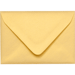 A1 gold metallic euro flap envelopes closed