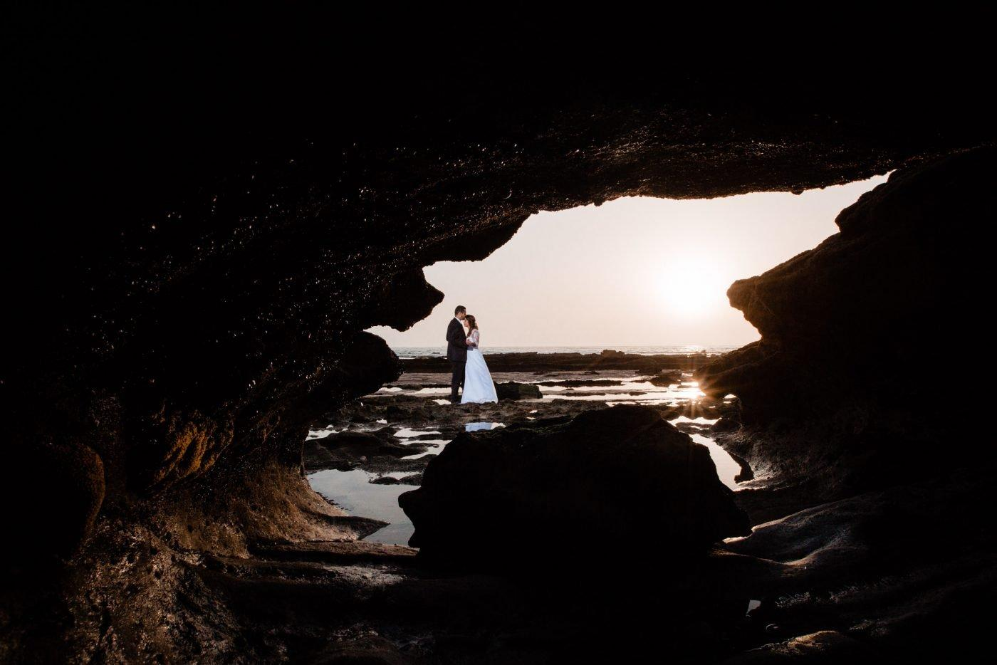Wedding photoshoot on Agadir beach