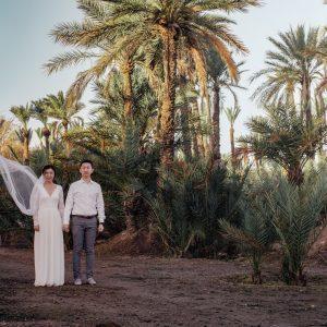 Marrakech Engagement Photoshoot