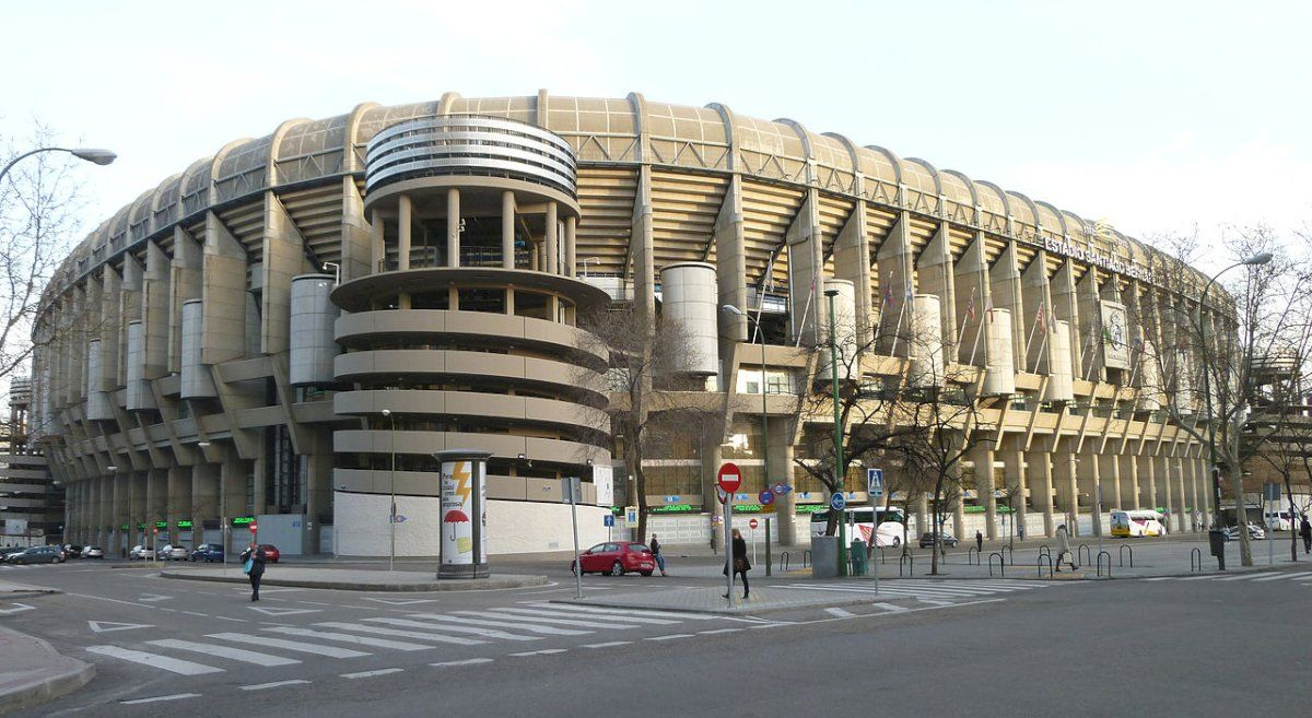 Le Santiago Bernabéu