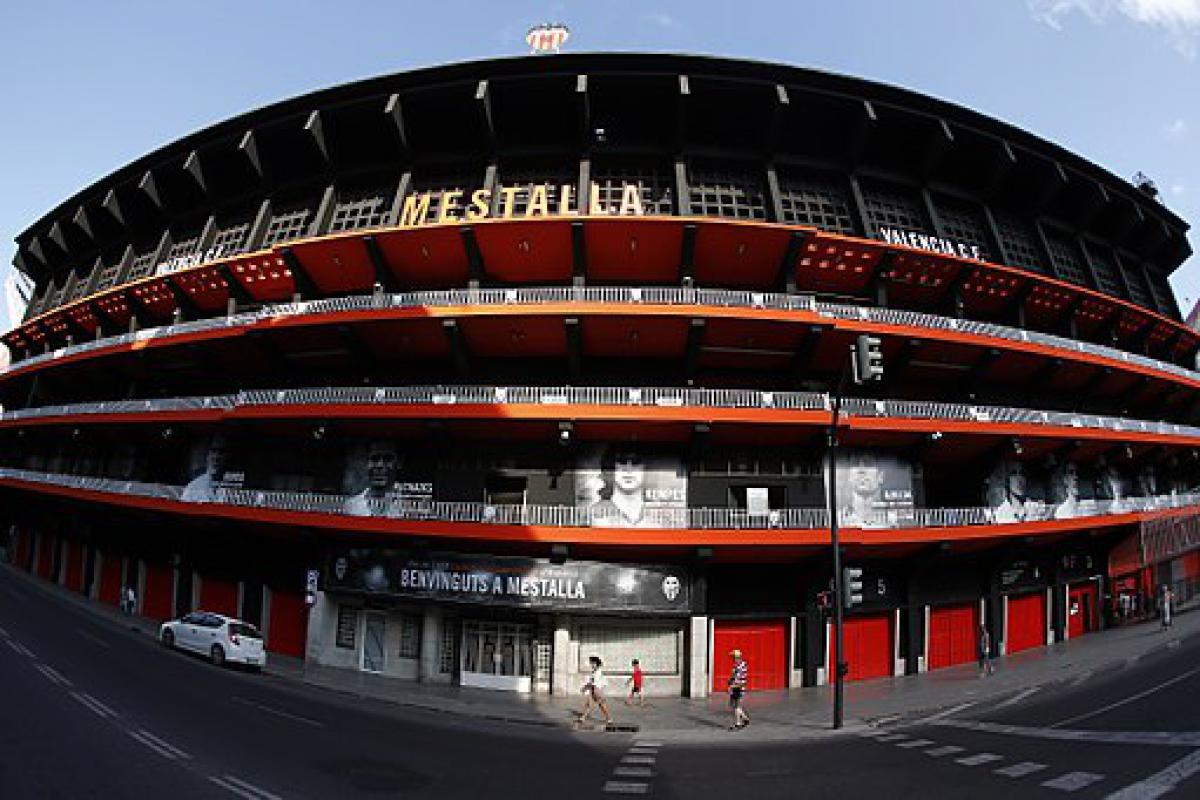 Dónde aparcar en Valencia cerca de Mestalla