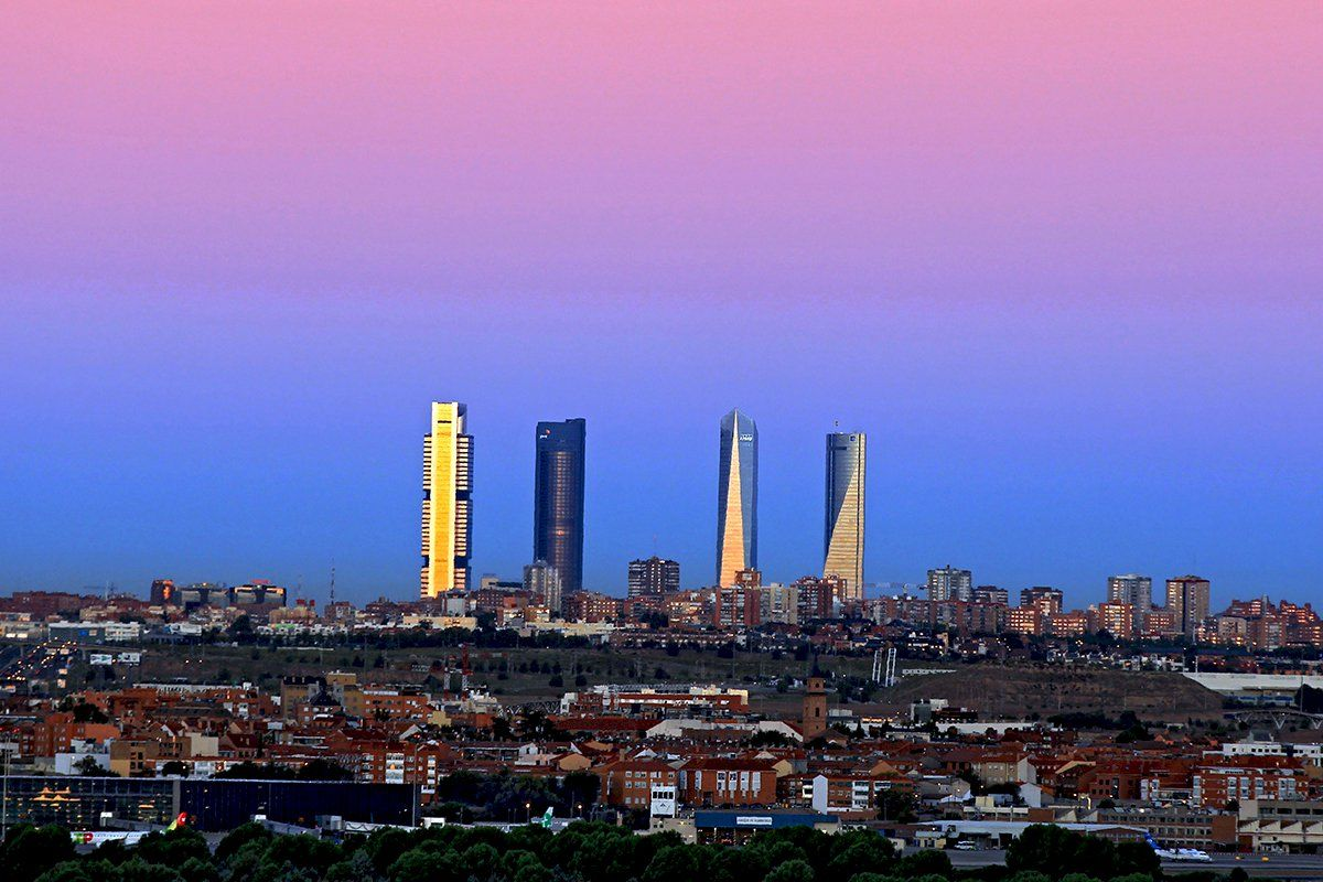 Las terrazas con las mejores vistas de Madrid.
