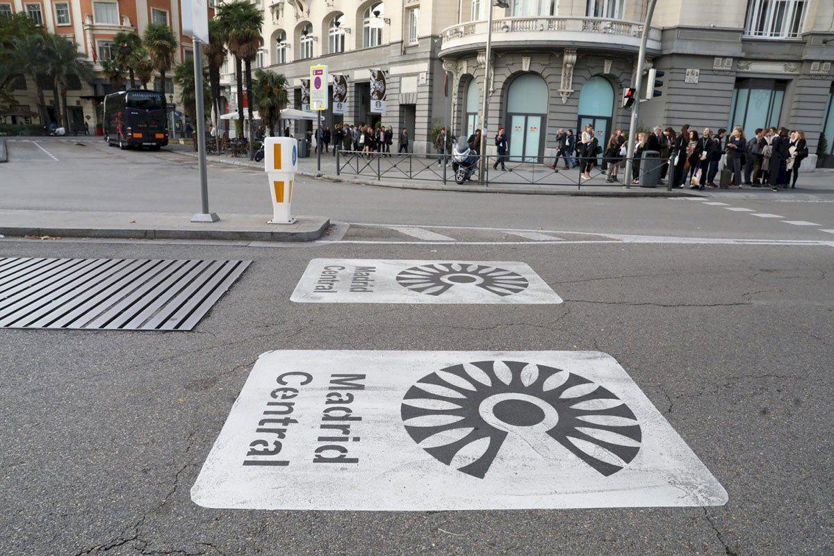 Nueva zona SER y actualización de Madrid Central