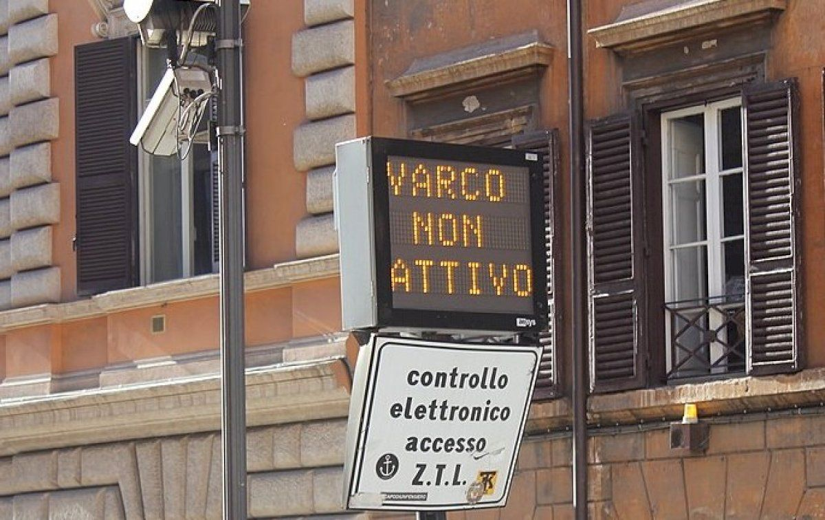 Rome's Limited Traffic Zone LTZ (updated 2021)