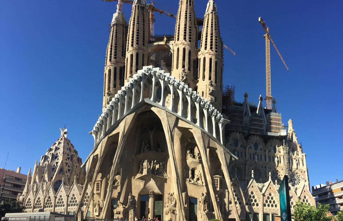 La Sagrada Familia recibe cada año más de tres millones de visitas
