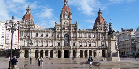 Sepa dónde aparcar gratis en el centro de La Coruña
