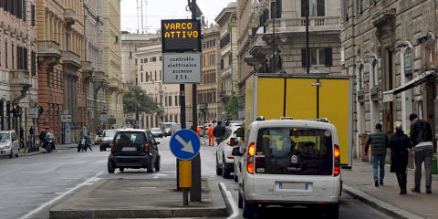Florence's Limited Traffic Zone (updated 2021)