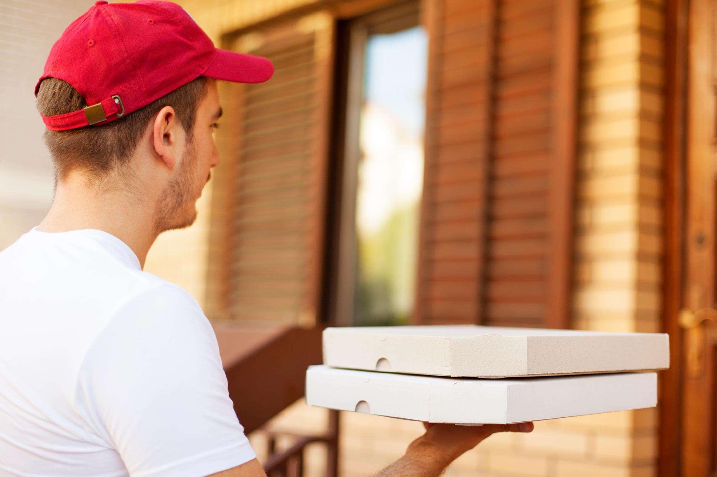 Cutii Pizza 45x45x4 - Corp + Capac Albe