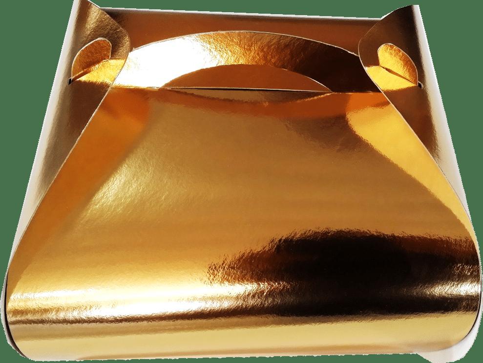 Cutii Tort T18x25 Aurii - La Comanda