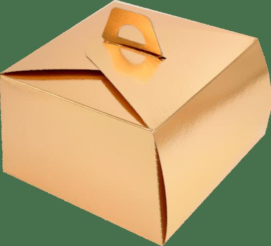 Cutii Tort T26 Aurii