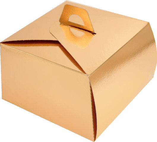 Cutii Tort T23 Aurii