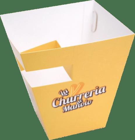 Cutii Churros (8x8)x(14x14)x15 cm Personalizate